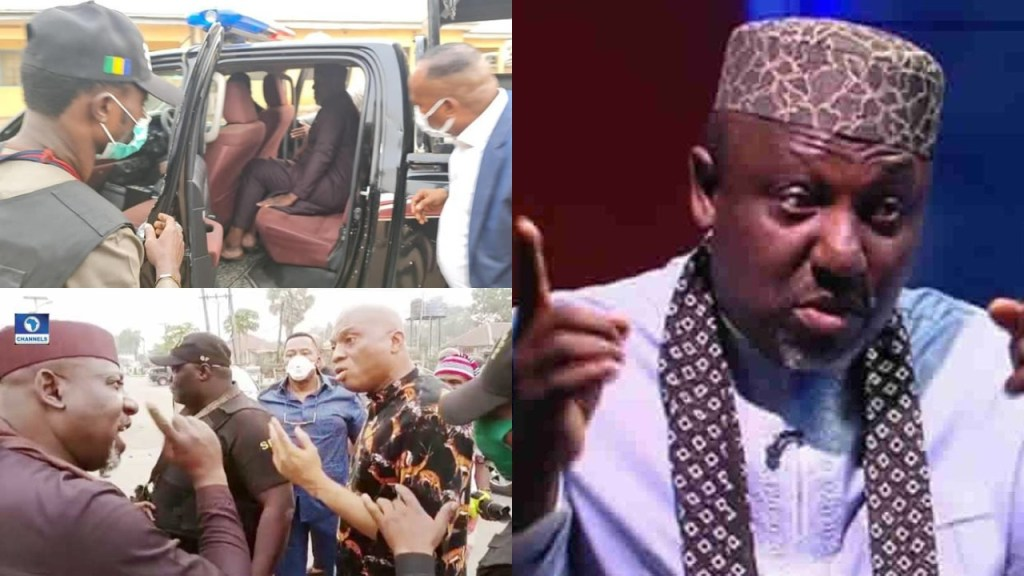 Imo Gov Uzodinma Ordered My Arrest - Okorocha Cries Out From Police Station