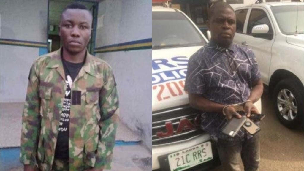 Police arrest pickpocket, dismissed soldier for robbery in Lagos