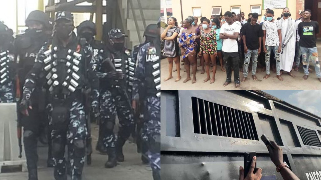 Lagos state police give reasons for arrest of #OccupyLekkiTollgate Protesters