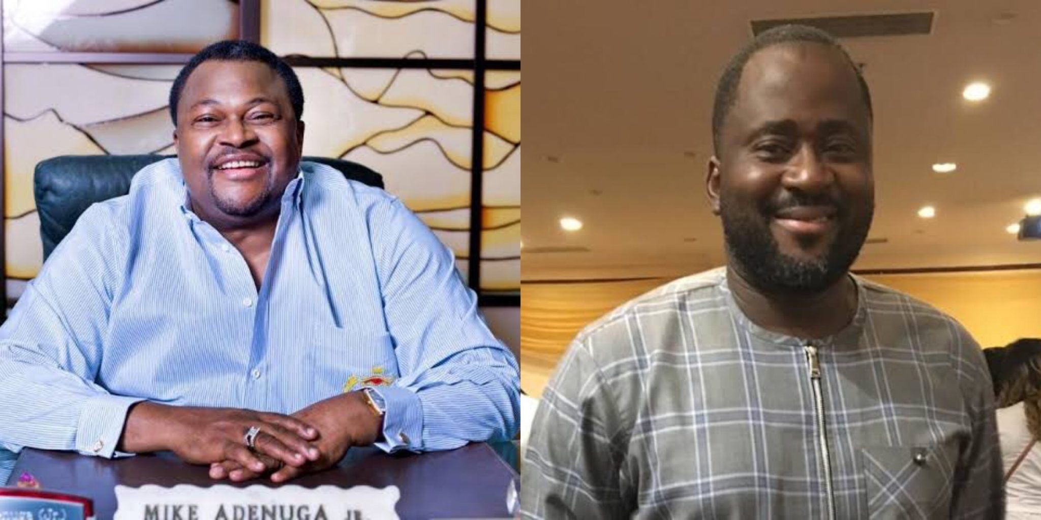 Desmond Elliot and Mike Adenuga allegedly in GAY romance - Blogger alleges