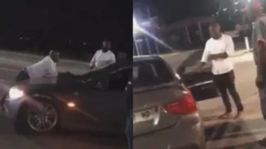 Sugar Daddy spotted in a viral video trying to confiscate a car he bought his younger lover