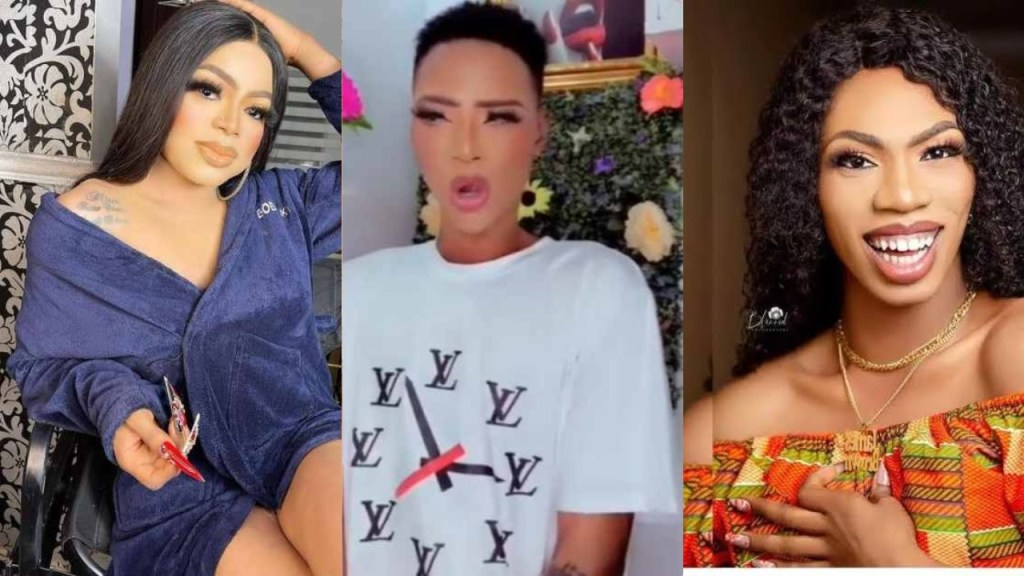 Bobrisky's disciple, LordCasted shades his senior colleague in ministry James Brown (Video)