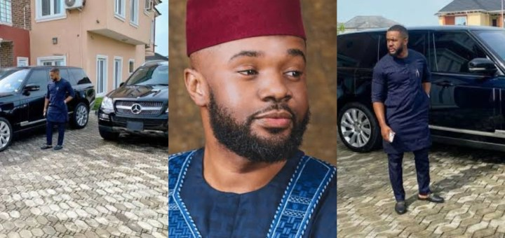 Nigerians react after Nollywood actor Williams Uchemba purchased 2 SUVs