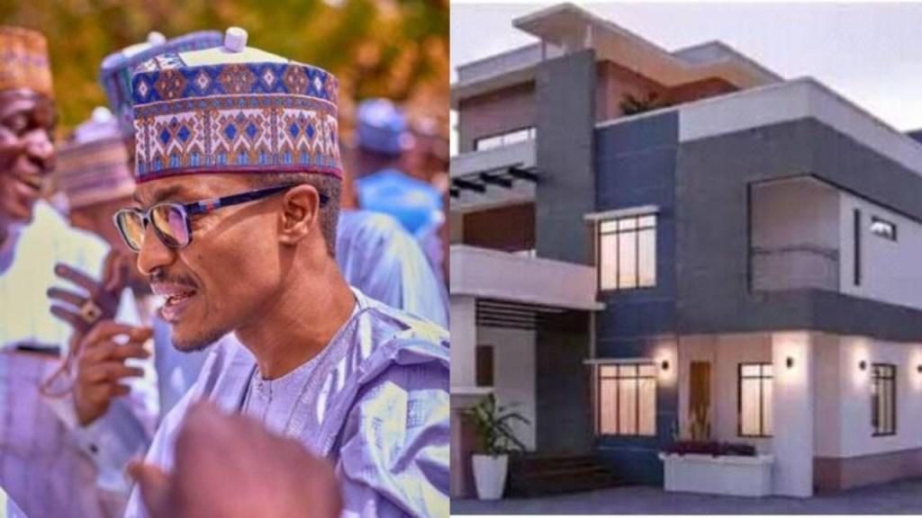 'It Took Me 4yrs To Build This House' - President Buhari's Nephew Says- Photo