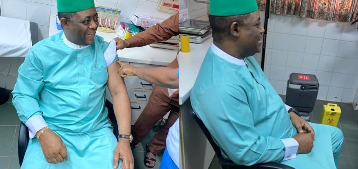 """FFK takes COVID-19 vaccine months after saying it's """"evil and Gates killer vaccine"""" (Photos)"""