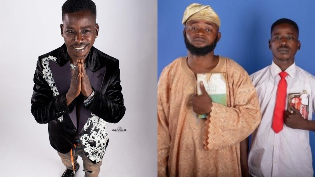 Black Camaru breaks down in tears as he narrates struggle with a colleague, Emini Oba before fame (Video)