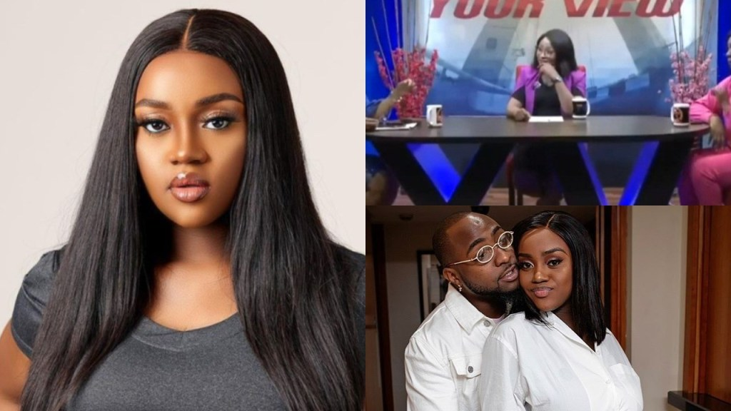 Nigerians drag TV host for condemning Davido's baby mama, Chioma