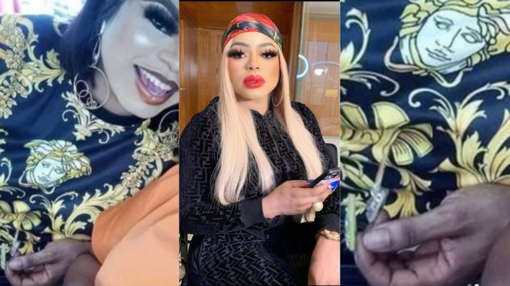Bobrisky mocked after a controversial photo of him emerged on social media