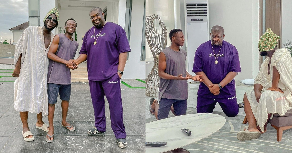 """""""I've never come across such humility"""" - Comedian Craze Clown hails Don Jazzy for his humility"""