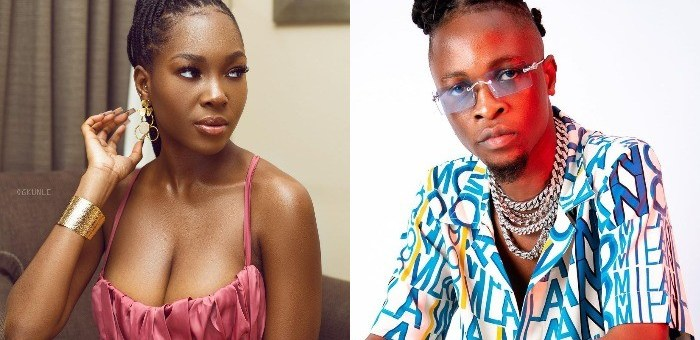 """""""Don't ever come for me"""" - Vee replies fan who accused her of never promoting Laycon's songs"""