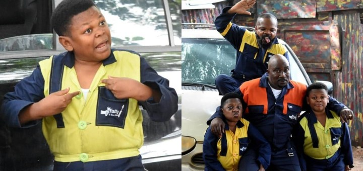 """Nollywood veterans, Aki and Pawpaw announce new TV series, """"Fatty and Son's Auto"""" (Video)"""