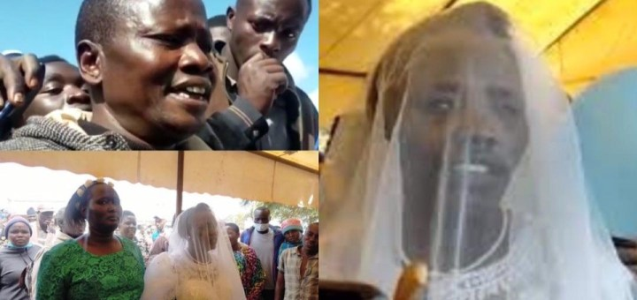 Mother of 6 dumps husband of 20 years to marry the 'Holy Spirit' goes to Uganda for honeymoon (Photos)