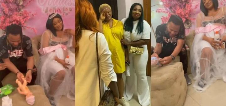 Friends throw actress Uche Ogbodo a surprise Baby Shower (Photos, Videos)