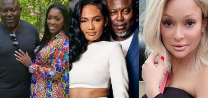 Porsha William's fiancé, Simon Guobadia offers $50,000 to anyone who can prove he cheated on ex-wife, Falynn, as woman claims she's his side chic