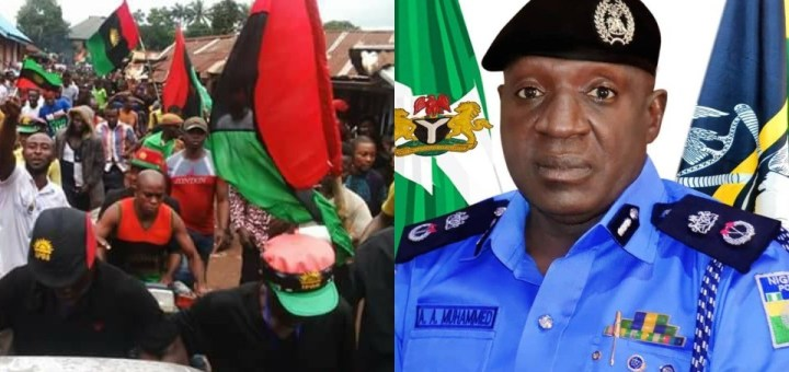 Delta Police Command warns against hoisting and carrying of Biafra Flag in any part of the State