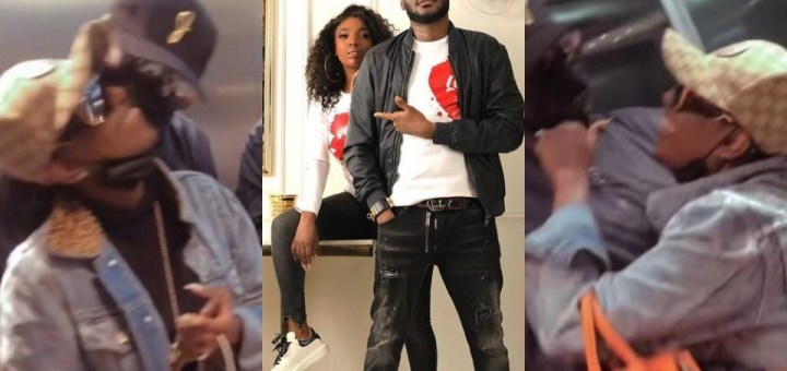 """""""My Mine is here"""" - Heart-warming moment 2baba reunited with his wife Annie after weeks apart (Video)"""