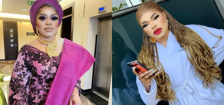 """""""Make sure your hair worth 700,000 bone straight 40 inches"""" - Bobrisky list items you must have before insulting him"""