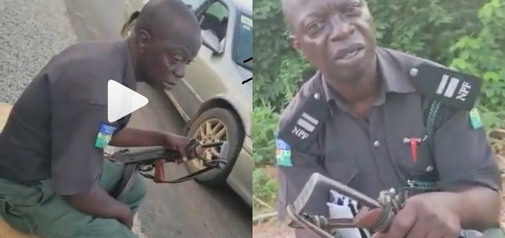 """""""I don't want transfer. I want cash"""" - Bribe seeking police officer tells man driving without a tint permit (Video)"""