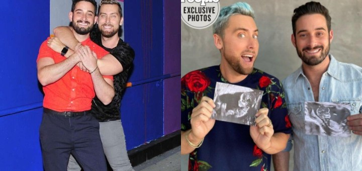 Singer Lance Bass and his husband Michael Turchin expecting Twins together