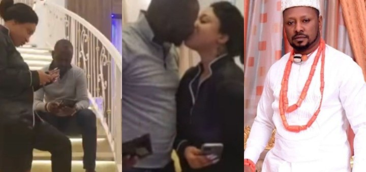 Anti-Corruption activist, Comrade Prince Kpokpogri revealed as Tonto Dikeh's New Lover (Photos)
