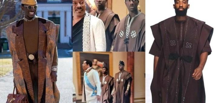 Copyright Infringement: Nigerian designer Ugo Monye threatens Legal Action against Coming 2 America Producers