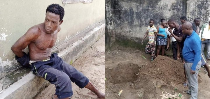 Pastor allegedly kills and buries wife in shallow grave in Akwa Ibom