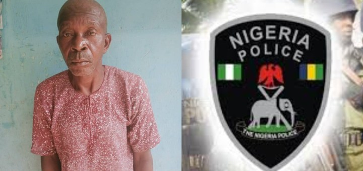 65-year-old man arrested for allegedly Raping his 85-year-old Stepmother in Ekiti (Photo)