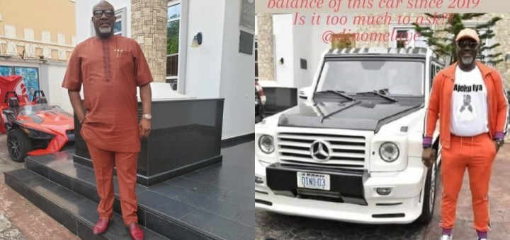 """""""You dial trouble…my lawyers go reach you"""" - Dino Melaye replies Car Dealer who called him out over unpaid debt"""
