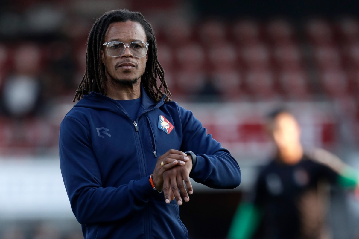 Dutch football legend, Edgar Davids sacked by Portuguese minnows Olhanense after relegation and just seven months in charge