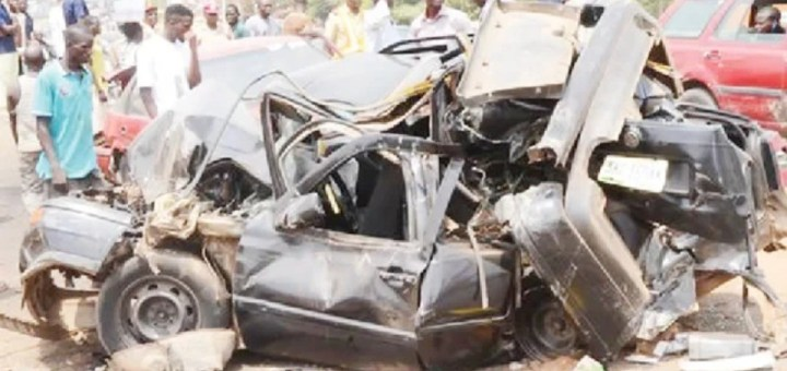 SAD! 10 killed in Sallah day car crash in Kwara