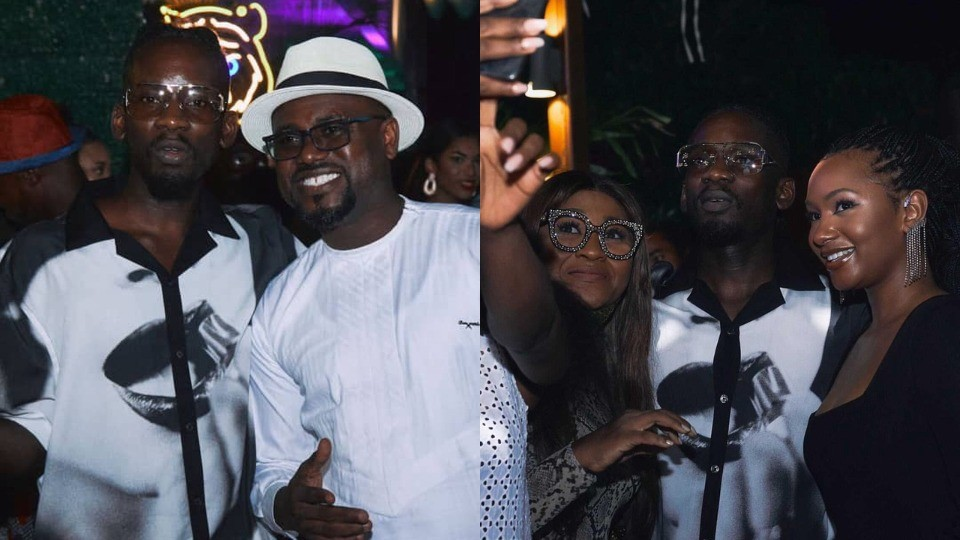 Photos and videos from singer, Mr. Eazi's 30th Birthday Party in Ghana