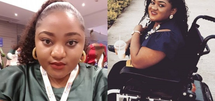 """""""I was a perfect, healthy and beautiful kid until a nurse injected me"""" – Physically challenged Nigerian pharmacist narrates how she wheelchair-bound"""
