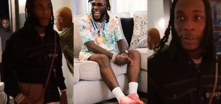 Burna Boy gets a lovely birthday surprise in Miami U.S as he turns 30 (Video)
