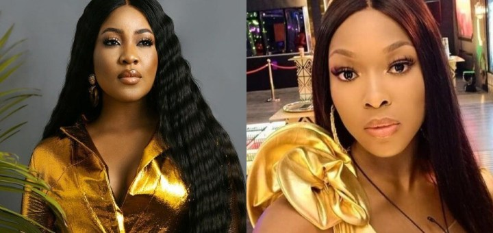 BBNaija Erica and Vee squash beef as they wish other well in their respective careers