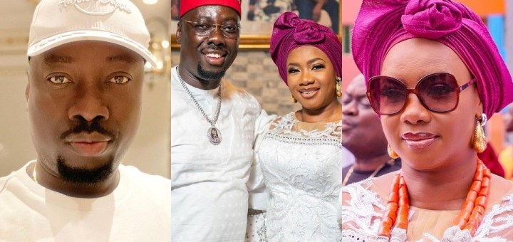 """""""Stop the hate and celebrate God's grace upon his chosen one"""" - Obi Cubana's wife Ebele Iyiegbu reacts to vile comments about her husband's wealth"""
