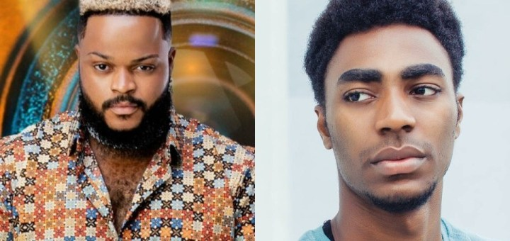 #BBNaija 2021: Whitemoney's epic reaction after Yerin described himself as a polymath and a renaissance person.