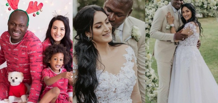 #BBNaija 2021 housemate Meet Niyi's beautiful Wife Bella (Video/Photos)