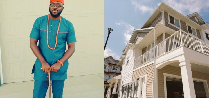 """""""I started in a one-room apartment"""" - Nigerian man celebrates as he buys an exquisite house in Canada"""