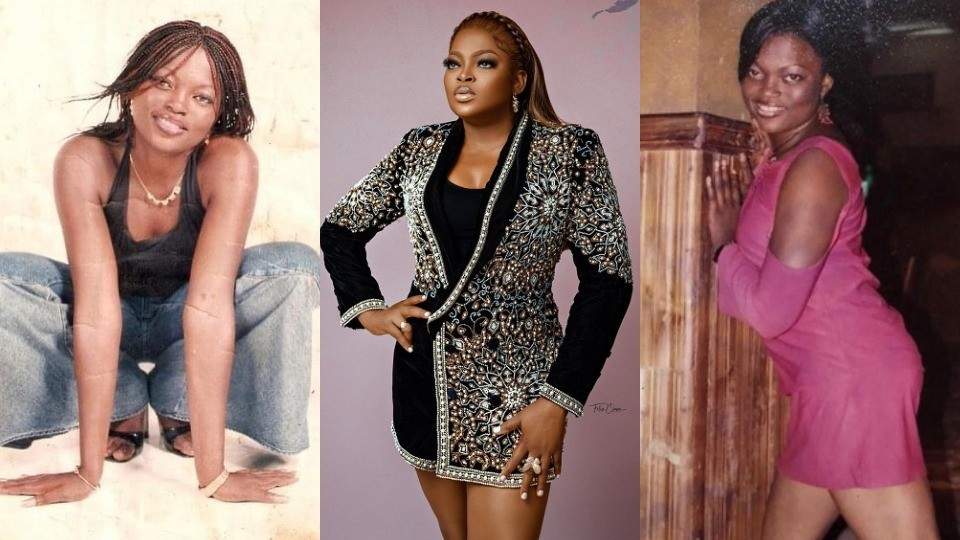 Fans react as actress Funke Akindele-Bello shares her throwback pictures