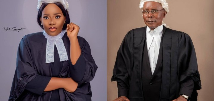 """""""You don't see things like this everyday"""" - Excitement as Father and daughter gets called to bar"""