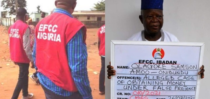 Traditional ruler lands in EFCC net over land scam in Ibadan
