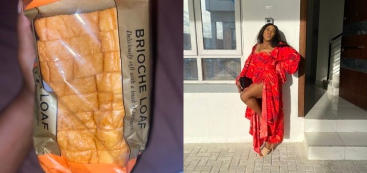 Lady laments bitterly after buying a loaf of bread for N5500