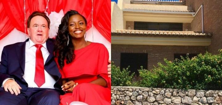 BBNaija's Ka3na's husband gifts her a house in Spain