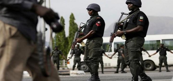 Nigeria Police lucipost