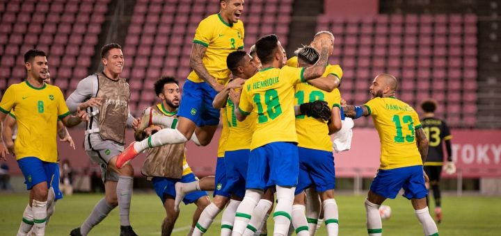 Toyko 2020 Olympics: Brazil defeat Spain after extra time to win Second Consecutive Olympic Men's Football Gold