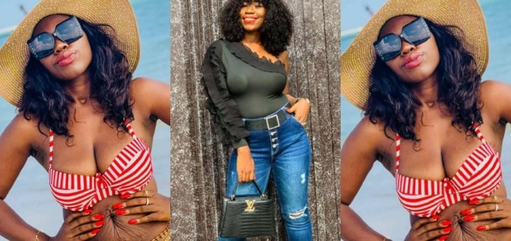 Nigerian mum shows off her postpartum body to encourage other women (Photos)