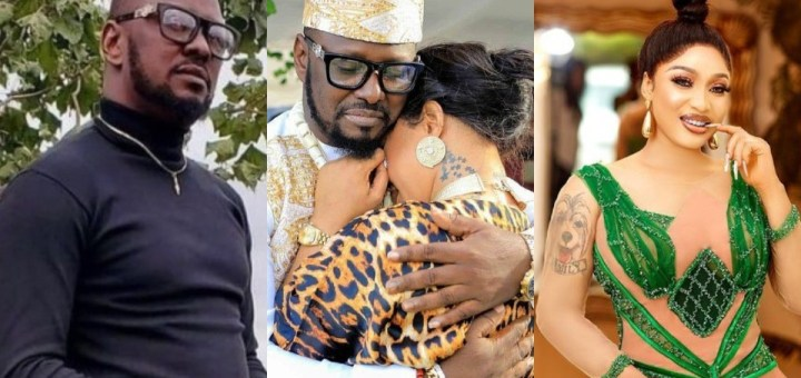 Leaked audio: Tonto Dikeh's new lover allegedly gushes over experience with sidechick