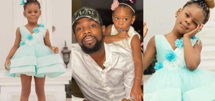 Patoranking celebrates daughter's third birthday with stunning photos