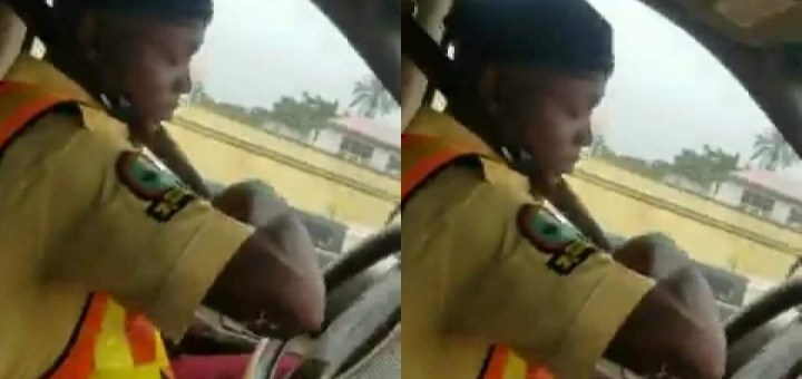 LASTMA dismisses Officer caught on Camera soliciting Bribe