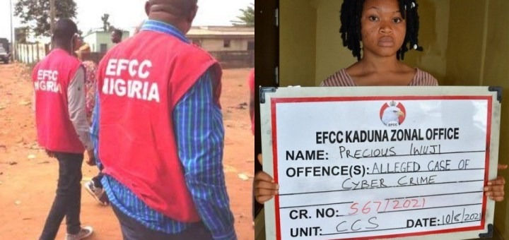 Lady arrested for allegedly selling her photos and Facebook Account to Internet Fraudsters